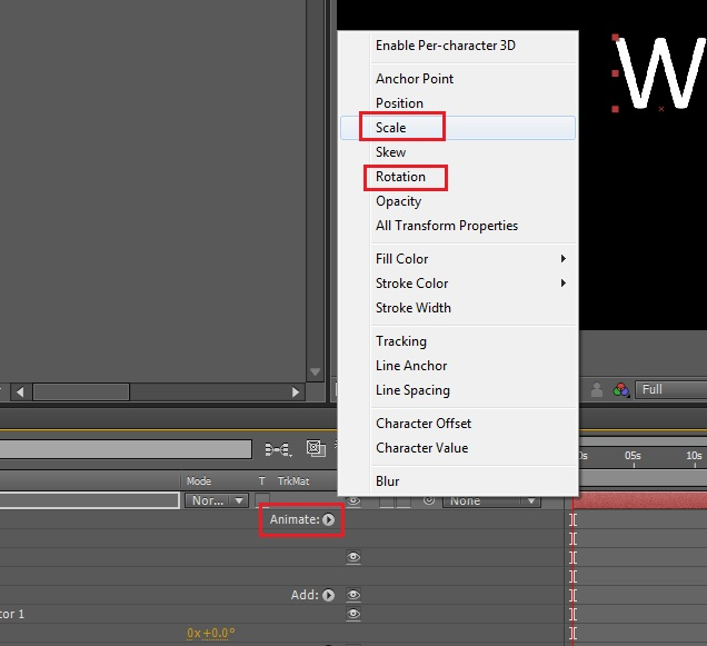 Using a wiggly selector in After Effects – Justin Cook's Blog