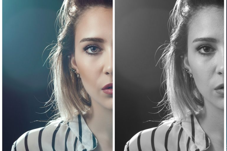 Creating and using adjustment layers in Adobe Photoshop
