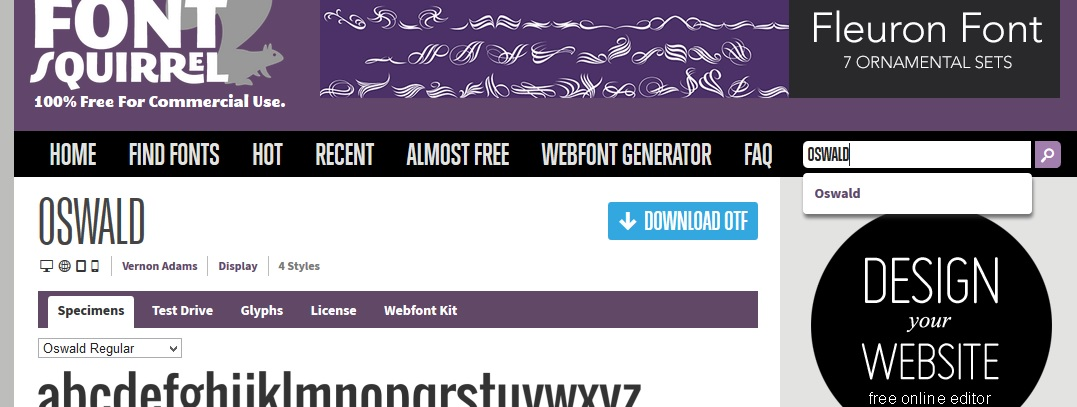 How to embed webfonts into your website Part 1/3