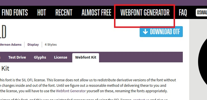 How to embed webfonts into your website Part 2/3
